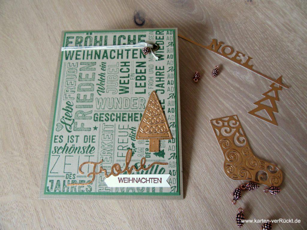 Stampin Up Weihnachtspotpourri