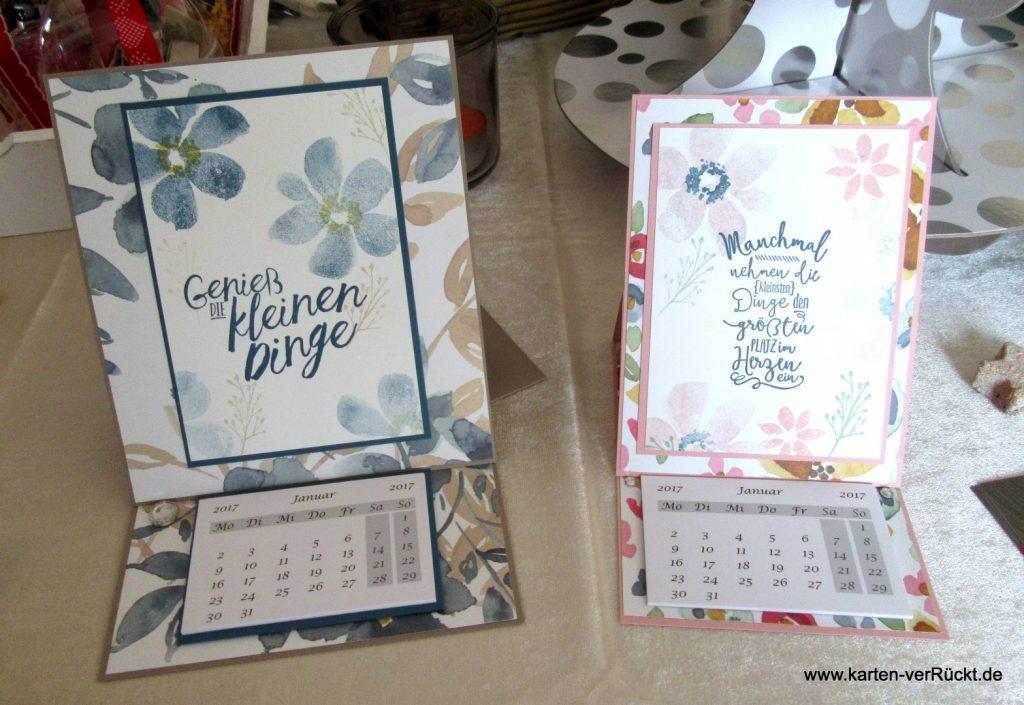 Easel Card Kalender