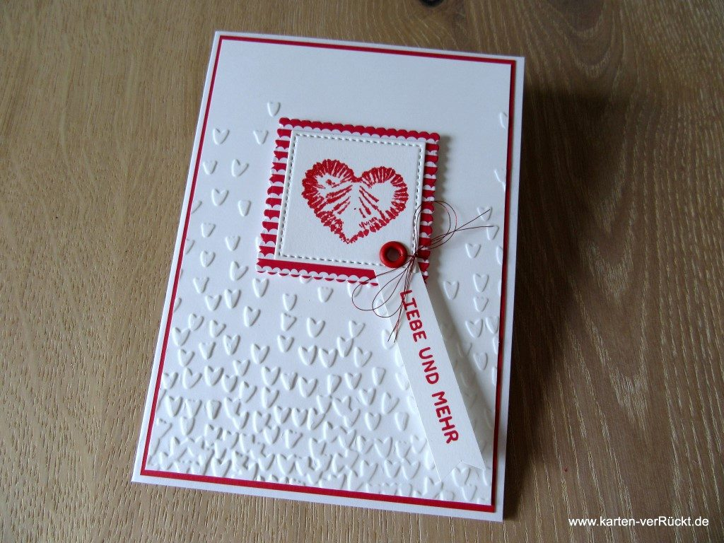 Tie Dyed Stampin Up